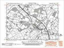 Sharnbrook, Souldrop, old map Bedfordshire 1950: 7NW