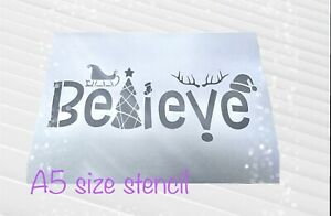 Merry Christmas Stencil,farmhouse Christmas Sign,Christmas Tree Stencil, Beli