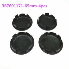 65mm Black Car Wheel Center Cap Hub Caps 3B7601171 for VW Beetle Golf Bora Polo