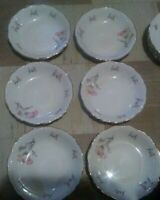 Edelstein bavaria maria theresia soup bowls lot of 6 ...7/3/4 inches