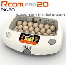 R-COM Pro 20 EGG Incubator FULLY Automatic Humidity Temperature with  Warranty !