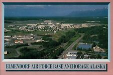Elmemdorf Air Force Base Anchorage Alaska, AK, United States Military - Postcard