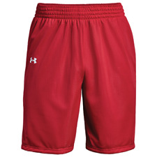 6fe940edc New Under Armour Triple Double Basketball Practice Short Men's Large Red  Mesh