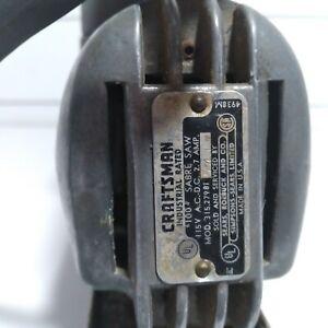 Vintage Craftsman 100 Sabre Jig Saw #315.27981!!  Tested and working ships free