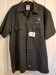 NEW Dickies G5 Outdoors Hunting S/S Work Shirt Large Broadheads Bow and Arrow