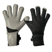 Aviata Halcyon Pure Touch Fingertip Turf Pro Goalkeeper Gloves - Black