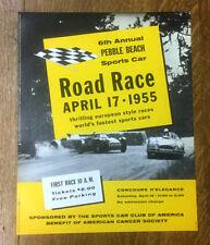Pebble Beach Road Race Poster, 1955