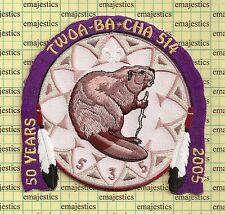 BSA OA LODGE 514 TWOA BA CHA HX-1 ISSUED BY 535 AWAXAAWE AWACHIA