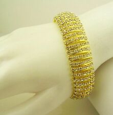 "Jackie Kennedy Mesh Bracelet Adjustable from  7 "" to 8 1/2"""
