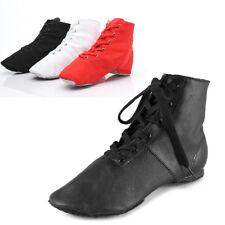 Brand New Unisex Ballroom Canvas/Leather Jazz Dance Shoes for Women/Children/Men