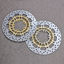 Fit For Triumph Street Triple 675/R 07-09 Motor Floating Front Brake Disc Rotors