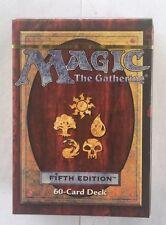 1 5th Edition Fifth Sealed Tournament Deck Mtg Magic English