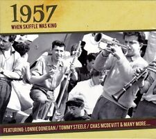 1957 WHEN SKIFFLE WAS KING (NEW SEALED CD)