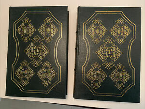 Easton Press - Leather - Tolstoy - 2 Volumes - Henri Troyat