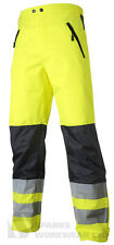 Hi Vis Shell Trousers Top Swede High Visibility Quality Clothing