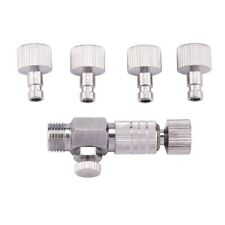 """Airbrush Quick Release Coupling Disconnect Adapter Part 1/8"""" Plug Fitting"""