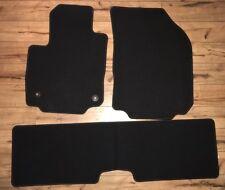 2018 CHEVY EQUINOX Black Floor Carpet Mats 3 piece Genuine OEM NEW
