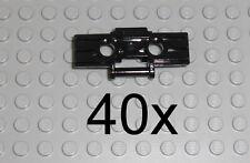LEGO Technic - 40x Kettenglieder schwarz - Kette link tread chain 42038 57518