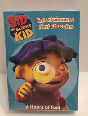Sid the Science Kid Weather KidThe Ruler of ThumbGizmos and Gadgets NEW DVDs