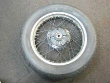 Suzuki GN250 J 1989 Rear Wheel with Cush Drive Rubbers 3/20