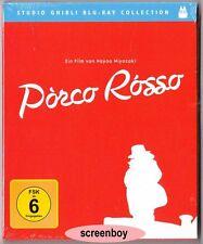 """PORCO ROSSO"" - Anime - STUDIO GHIBLI - BLU RAY - Hayao Miyazaki - neu/OVP"
