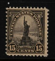 1931 Sc 696 MNH Statue of Liberty single Sc CV $12