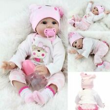 22 Realistic Reborn Baby Dolls Handmade Newborn Vinyl Silicone Girl Holiday Gift