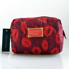 Marc by Marc Jacobs women nylon Purple & Red Lips clutch handbag cosmetic bag