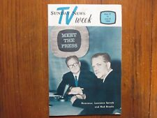 May 31, 1964 Lancaster Pa TV Magaz(LAWRENCE SPIVAK/KEN  CURTIS/MEREDITH WILLSON)
