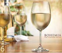 Set of 2 glasses - Fine European Crystal Lara wine cup glass 350ml