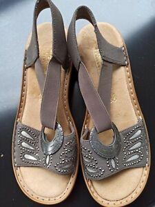 Rieker Sandals - Size 4 - NEW - No box.