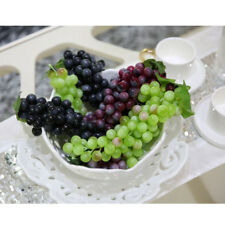 Artificial Plastic Grapes Bunch Fake Fruits Home Kitchen Cabinet Party Deor