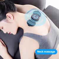 Portable Mini Electric Neck Massager Cervical Massage Stimulator Pain Relief
