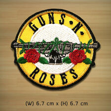 """NEW"" ""GUNS N' ROSES "" Rock Band Iron On Sew Applique Embroidered Patch."
