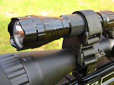 TORCIA LASER RIFLE SCOPE LIGHT Mount Velcro Universal LAMPING Mount Air Rifle