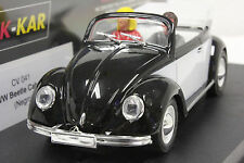 PINK KAR CV041 VW VOLKSWAGEN BEETLE NEW 1/32 SLOT CAR IN DISPLAY CASE