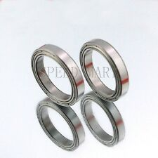 2PCS 6704ZZ Deep Groove Metal Double Shielded Ball Bearing (20mm*27mm*4mm)