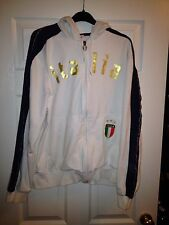 *Large* ITALY Puma Zip Tracksuit Football Hoodie