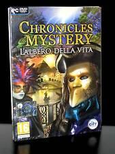 CHRONICLES OF MYSTERY LALBERO DELLA VITA GIOCO NUOVO PC IN ED ITALIANA PG637