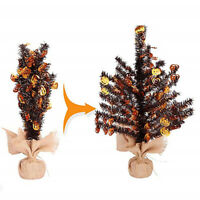 Artificial Christmas Tree Festival Ornaments Creative Boutique Desktop Decor 6N