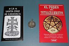 SET BOOKS+PENDANT LA SANTA CRUZ DE CARAVACA- EL PODER DEL TETRAGRAMMATON libros