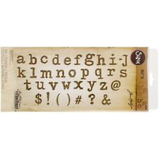 Sizzix Bigz XL Die Tim Holtz TYPO Lower Case Alphabet Letters 661176