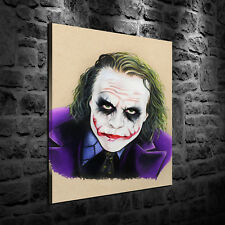 HD Print Oil Painting Home Decor Art on Canvas The Joker 12x16inch Unframed
