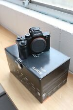 SONY A7R mark II Interchangeable Lens Camera ILCE7RM2 - Black (Body Only) Alpha
