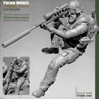 1:35 Pesante Trooper Anteriore soldier stand Resin Kit Unpainted E5T5 Model C7B9