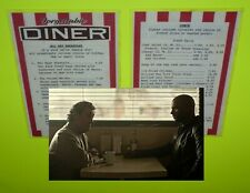 original AMERICAN GODS screen used prop diner menu STARZ TV Ian McShane DEADWOOD
