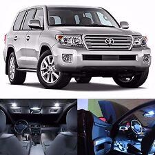 LED White Lights Interior License Package Kit For Toyota Land Cruiser 2008-2012