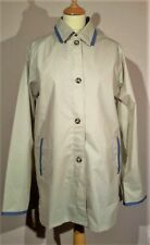"LADIES 3/4 LENGTH DAMART RAINCOAT - SIZE S (21"" Pit-Pit)- REMOVABLE WARM LINING"