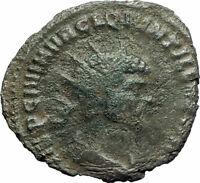 Quintillus 270AD Very rare Authentic Genuine Ancient Roman Coin APOLLO i76932