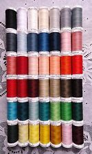 42 BIG different colors GUTERMANN 100% polyester sew-all thread 274 yard Spools